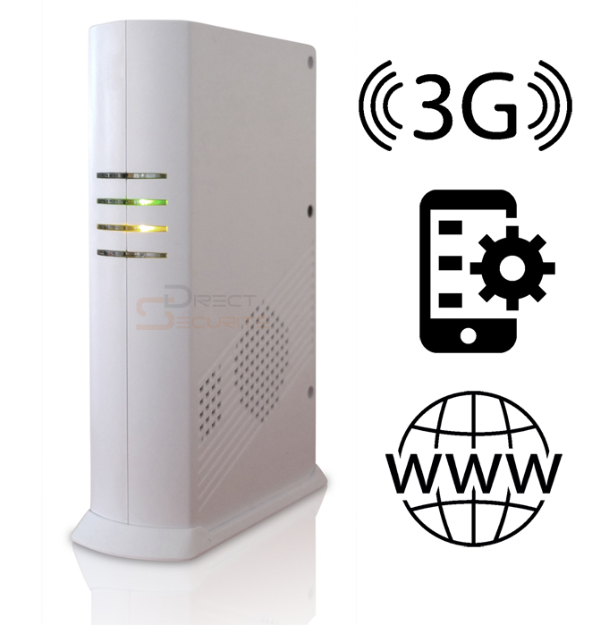 alarme gsm et ip sur iphone